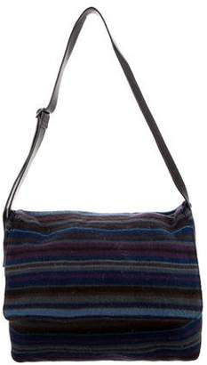 Missoni Patterned Wool Messenger Bag
