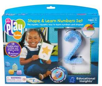 Educational Insights Learning Resources Learning Resources Playfoam Shape & Learn Number Set