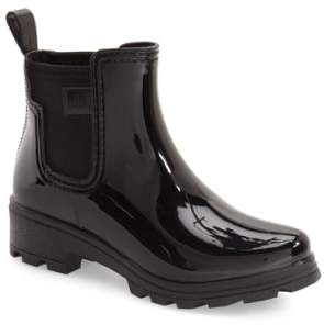 dav 'Prague' Waterproof Chelsea Rain Boot