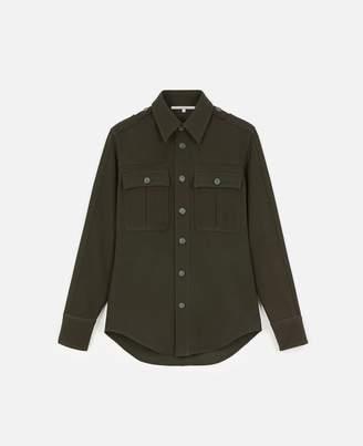 Stella McCartney Wool Flannel Shirt, Women's