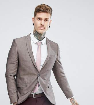 Heart & Dagger skinny linen blazer