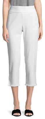 Style&Co. STYLE & CO. Fringe Bottom Capri Pants