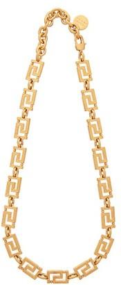 Versace Grecamania Necklace - Womens - Gold