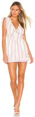 BCBGeneration Knot Front Romper