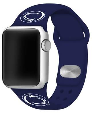 Affinity Bands Penn State Nittany Lions Silicone Sport Watch Band for Apple Watch - 42mm NVY