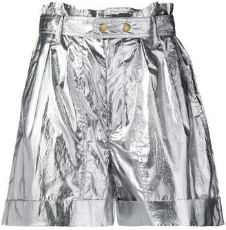 Isabel Marant metallic shorts