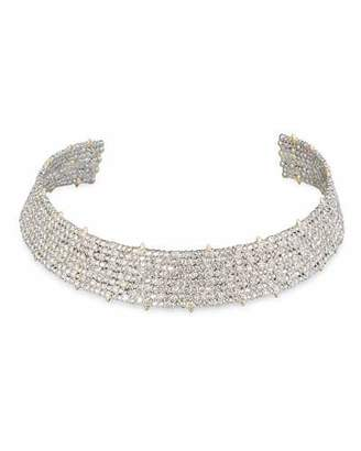 Alexis Bittar Coveteur Series 2 Crystal Choker Necklace $795 thestylecure.com