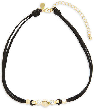 Swarovski Mhart Crystal 18K & Silver Necklace