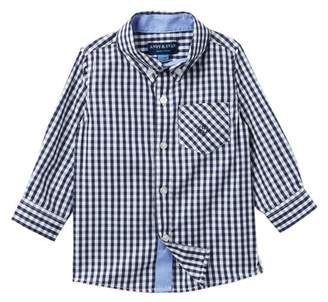 Andy & Evan Gingham Button-Down Shirt (Baby Boys)