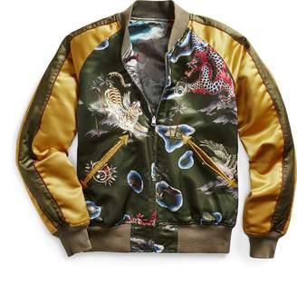 Ralph Lauren Reversible Satin Tour Jacket