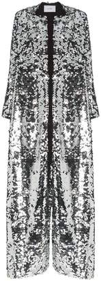 Morgan We Are Leone sequin embellished maxi coat