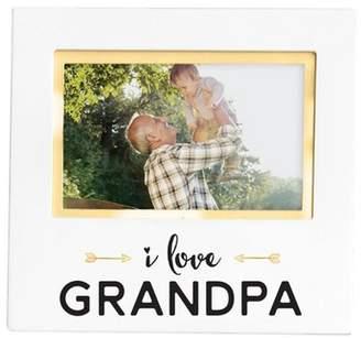 "Pearhead Keepsake Picture Frame 4"" x 6"" - ""I love Grandpa"""