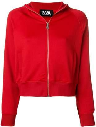 Karl Lagerfeld zip-up jacket