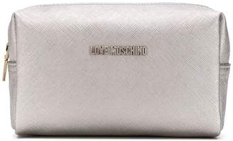 Love Moschino logo make up bag