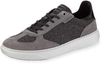 Joe's Jeans Men's Moe Joe Low-Top Sneakers, Charcoal