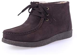 d1f1f8e8a8f at Amazon Canada · ZMZ-666-hei-40 SUNROLAN Beacon Women s Suede Winter  Lace-Up Moccasin