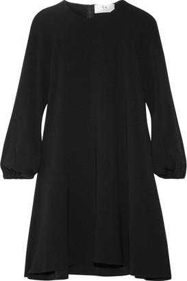Co - Crepe Mini Dress - Black $625 thestylecure.com