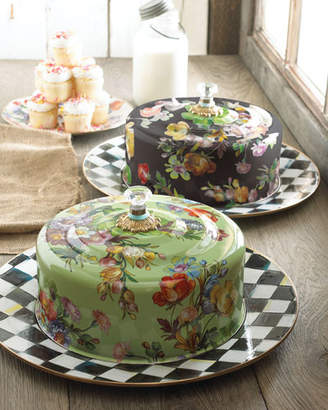 Mackenzie Childs MacKenzie-Childs Flower Market Cake Carrier