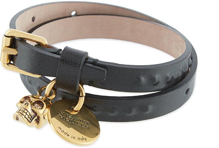 Alexander McQueenAlexander Mcqueen Double wrap bracelet