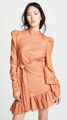 Zimmermann Flounce Mini Dress