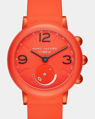 Marc Jacobs Riley Pink Hybrid Smartwatch