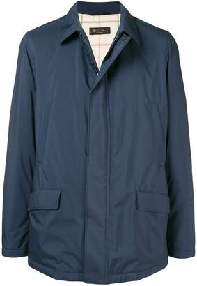 Loro Piana zip lightweight jacket