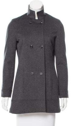 Luciano Barbera Barbera Wool Coat