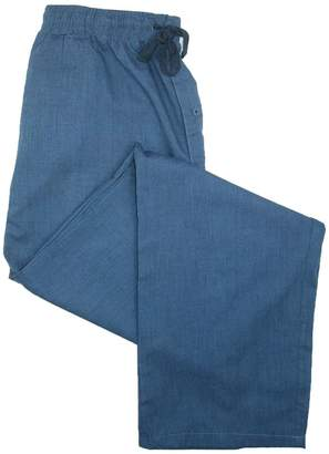 Hanes Men's Big & Tall Woven Drawstring Sleep Pajama Pants
