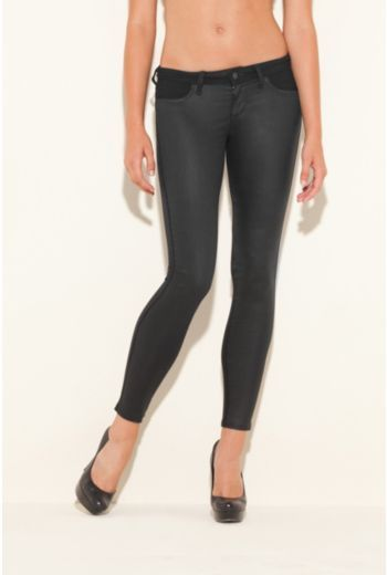 Biker Power Skinny Jeans with Rinse 2