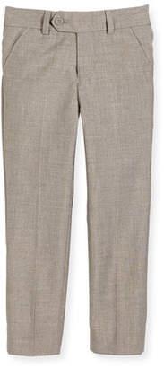 Appaman Slim Suit Pants, Light Gray, Size 2-14