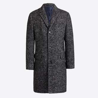 J.Crew Wool herringbone topcoat
