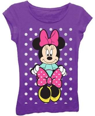 Minnie Mouse & Bow Girls' Short Sleeve T-Shirt