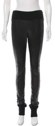 Diane von Furstenberg Leggy Leather Pants w/ Tags