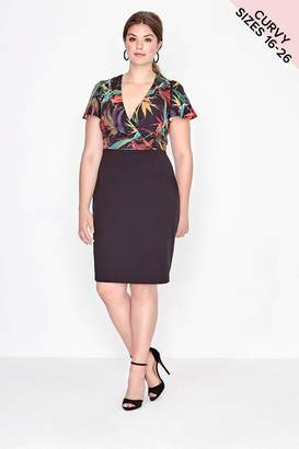 Paper Dolls Outlet 2 In 1 Bodycon Dress