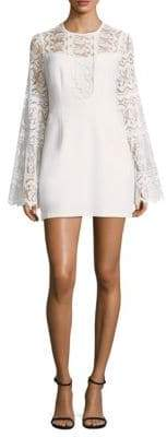 Nanette Lepore Spanish Dancer Lace Bell-Sleeve Dress