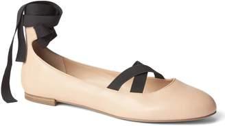 Gap Lace-up ballet flats
