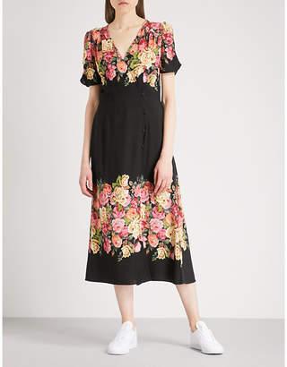 Free People Jamie floral-print crepe dress