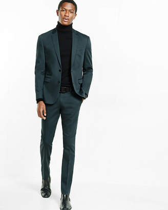 Express Slim Green Suit Pant