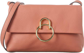 Vince Camuto Plum Leather Crossbody