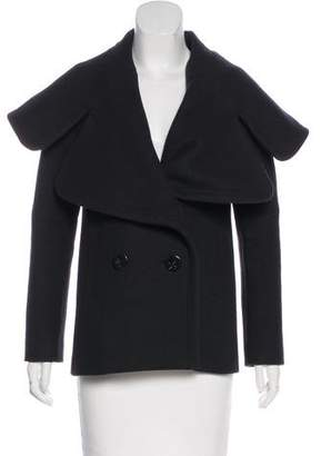 Martin Grant Virgin Wool Lapel Coat
