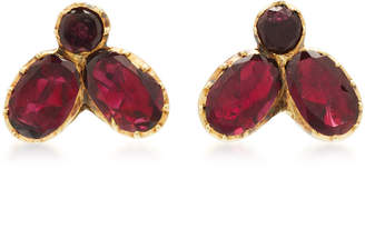 Fly London VELA One-Of-A-Kind Georgian Garnet Studs