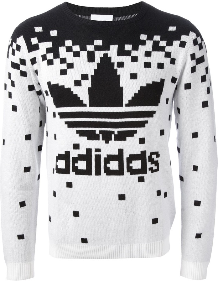 adidas 'Pixel' sweater