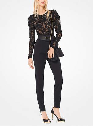 Michael Kors Floral Lace Jumpsuit