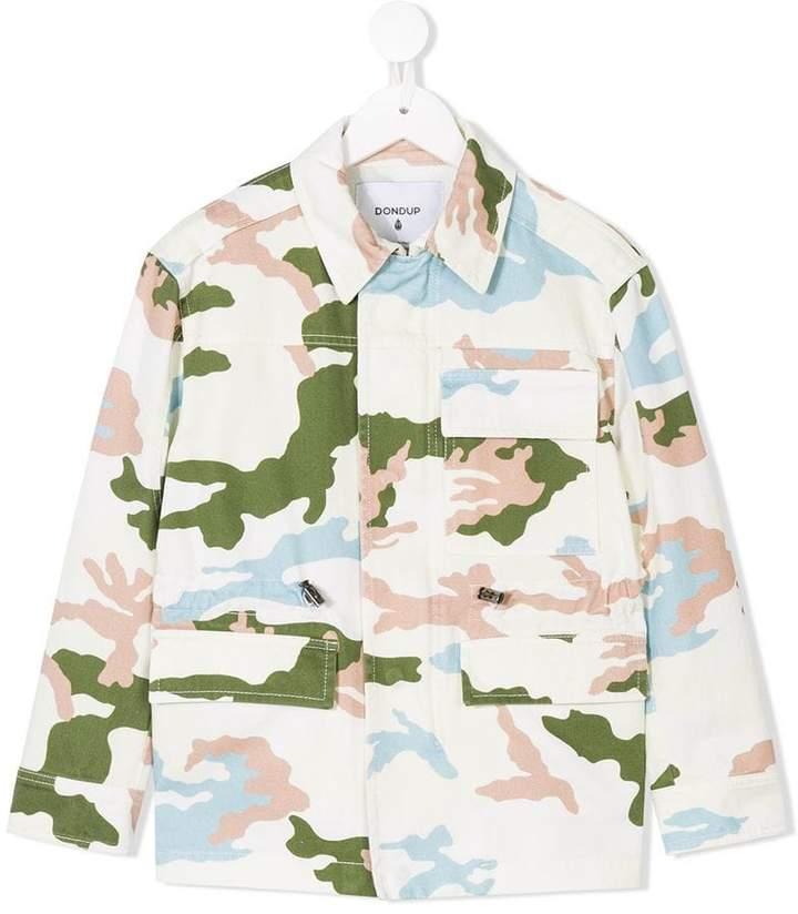 Dondup Kids Jacke in Camouflage-Optik