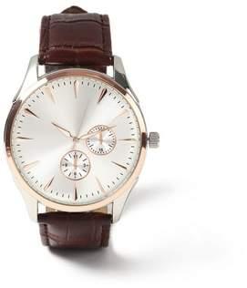 Topman Mens Brown Leather Watch*