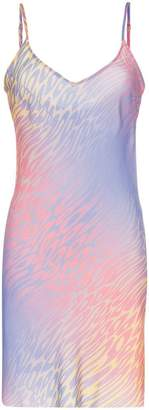 Double Rainbouu champagne supernova slow lane slip dress