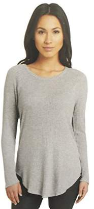 Chaser Womens Ultra Soft Waffle Weave Long Sleeve Tee () ()