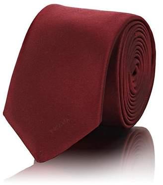 Prada Men's Silk Twill Necktie - Red