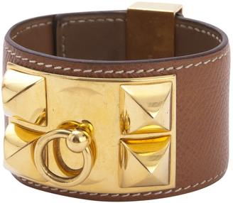 Collier de chien leather bracelet