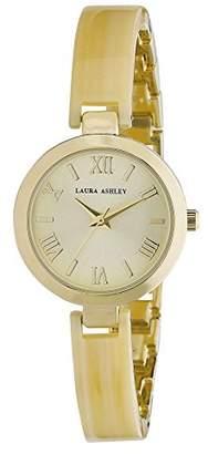 Laura Ashley Women's LA31002BN Analog Display Japanese Quartz Gold Watch
